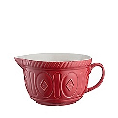 Mason Cash - Red earthenware 'Colour Mix' batter bowl