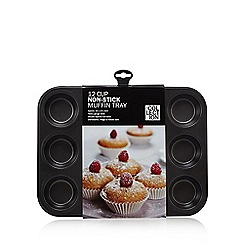 Home Collection - Heavy gauge steel non-stick 12 cup muffin tray