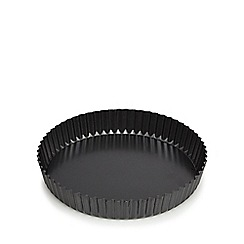 Debenhams - Heavy gauge steel non-stick quiche tin