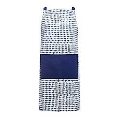 Home Collection - Blue watercolour apron