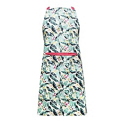 Home Collection - Multi-coloured tropical print apron