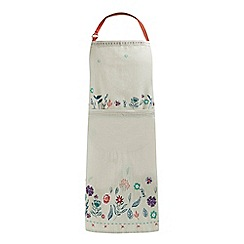 Home Collection - Beige floral print apron