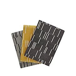 J by Jasper Conran - Set of 3 assorted geometric print tea towels