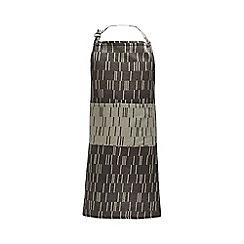 J by Jasper Conran - Grey geometric print apron