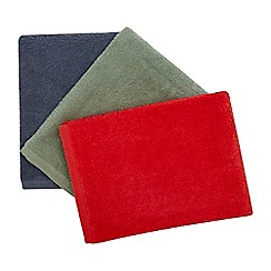 Home Collection - 3 Pack Multicoloured Hand Towels