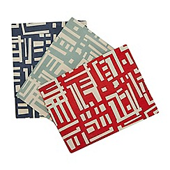 Home Collection - 3 Pack Multicoloured 'Soldermalm' Printed Tea Towels