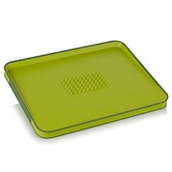 Joseph Joseph - Cut&Carve Plus large chopping board in green