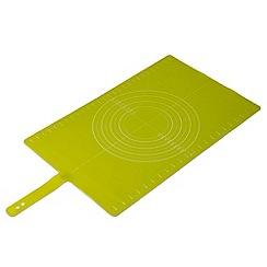 Joseph Joseph - Roll-up non-slip silicone pastry mat in green