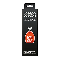 Joseph Joseph - Pack of 20 white 'Intelligent Waste ' compaction general waste bags