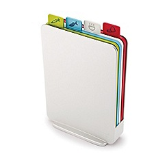 Joseph Joseph - Set of 4 white 'Index™' compact chopping boards
