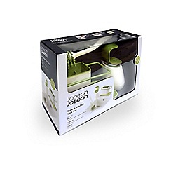 Joseph Joseph - White and green 3 piece kitchen sink set
