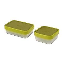 Joseph Joseph - Green 'GoEat™' space saving lunch and salad box set