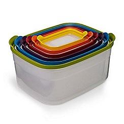 Joseph Joseph - Multi-coloured 'Nest™ Storage' 6 piece compact food container set