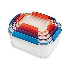 Joseph Joseph - Multi-coloured 'Nest™ Lock' 4 piece storage container set