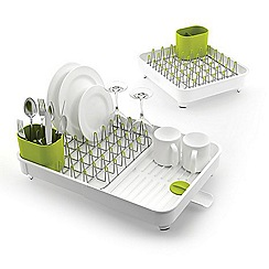 Joseph Joseph - White and green 'Extend ' expandable dish rack