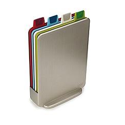 Joseph Joseph - Index Mini set of 4 compact chopping boards with storage case