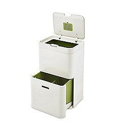 Joseph Joseph - Cream 'Totem 48' waste separation and recycling unit