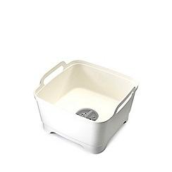 Joseph Joseph - Grey White 'Wash and Drain' Washing Up Bowl