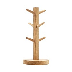 J by Jasper Conran - Designer oak mug tree