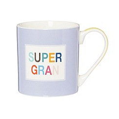 Ben de Lisi Home - Designer fine china 'Super Gran' mug