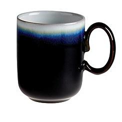 Denby - Black 'Imperial' double dip print mug