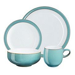 Denby - Glazed 'Azure' 16 piece dinnerware set