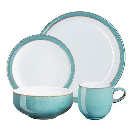 sc 1 st  Debenhams & Denby Glazed u0027Azureu0027 16 piece dinnerware set   Debenhams