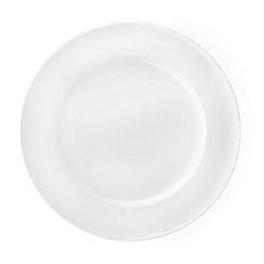 Denby - White glazed 'Grace' gourmet plate