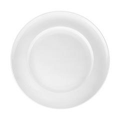 Denby - Glazed 'White Grace' dessert plate
