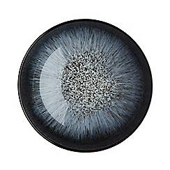 Denby - Black glazed 'Halo' cereal bowl