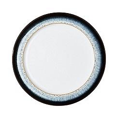 Denby - Glazed 'Halo' rimmed dessert plate
