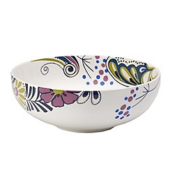 Denby - Multi-coloured 'Monsoon Cosmic' cereal bowl