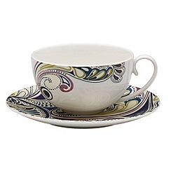 Denby - Monsoon cosmic tea saucer