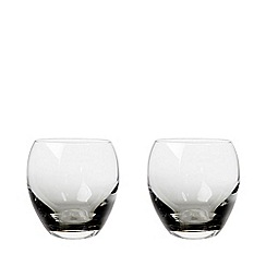 Denby - Set of 2 'Halo' small tumblers