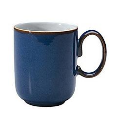 Denby - Glazed 'Imperial Blue' mug