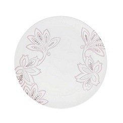 Denby - Fine china cream 'Monsoon Chantilly' salad plate