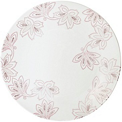 Denby - Fine china 'Monsoon Chantilly' round platter