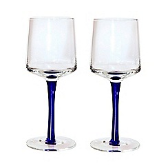 Denby - Set of two white wine glasses