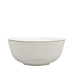 Denby - Cream glazed 'Natural Canvas' dessert bowl