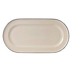 Gordon Ramsay By Royal Doulton - Cream 'Union Street Caf ' serving platter