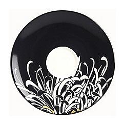 Denby - Monsoon chrysanthemum tea saucer