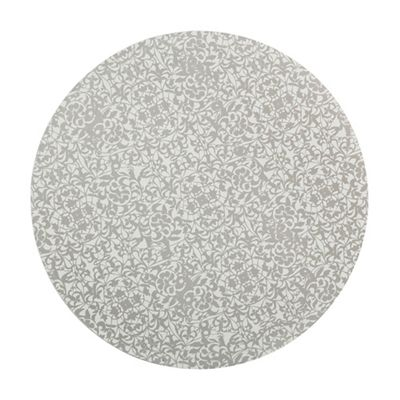 Denby Pack Of 4 Silver Monsoon Filigree Placemats