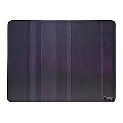 Denby - Set of 6 purple placemats