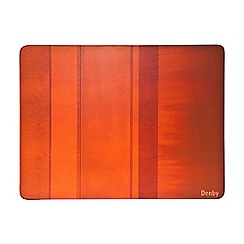 Denby - Pack of 6 orange placemats