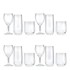 Home Collection Basics - Set of 12 glassware set