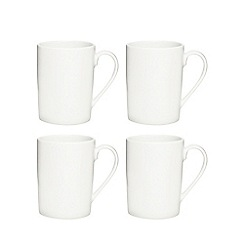 Ben de Lisi Home - White latte mug