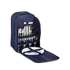 Home Collection - Navy four person picnic rucksack