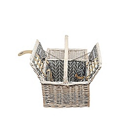 Home Collection - Two person wicker hamper