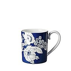 Denby - Blue 'Monsoon Fleur' small mug