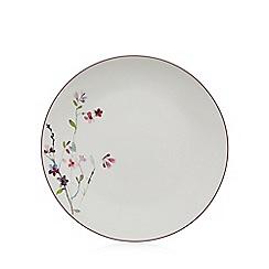 RJR.John Rocha - White floral dinner plate
